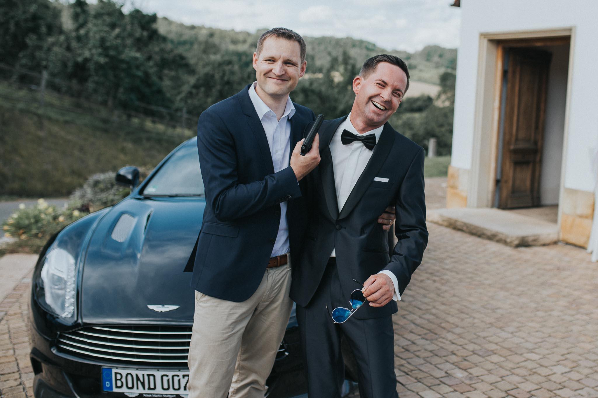 James Bond Hochzeit von Jenny und Oliver
