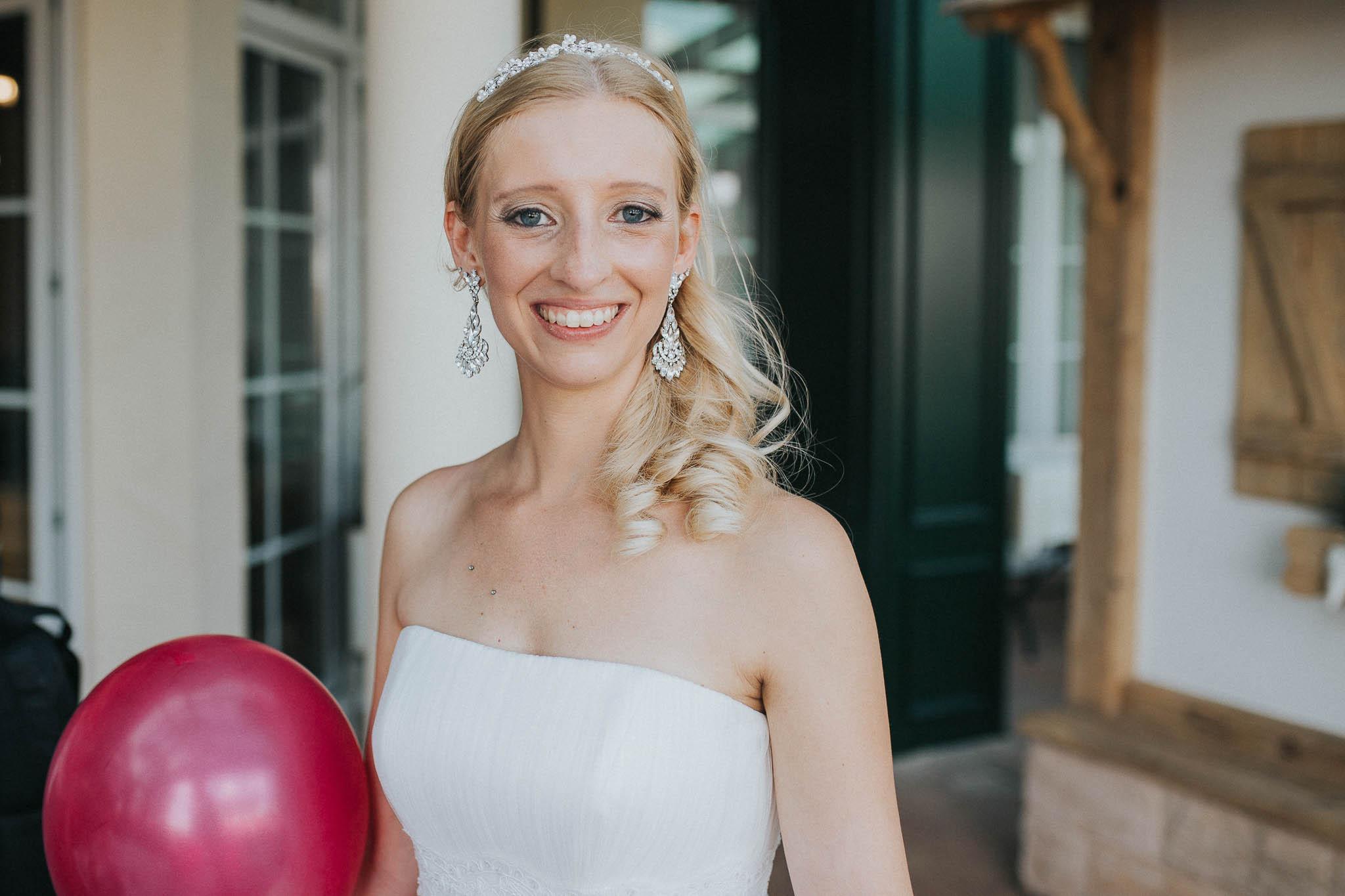 Portrait der Braut Jenny