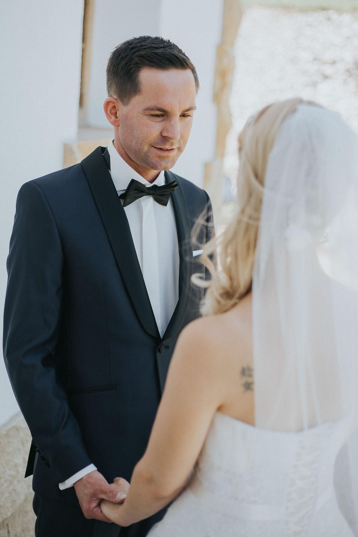 Braut und Bräutigam - Hochzeitsfotografin Maren Scheffler