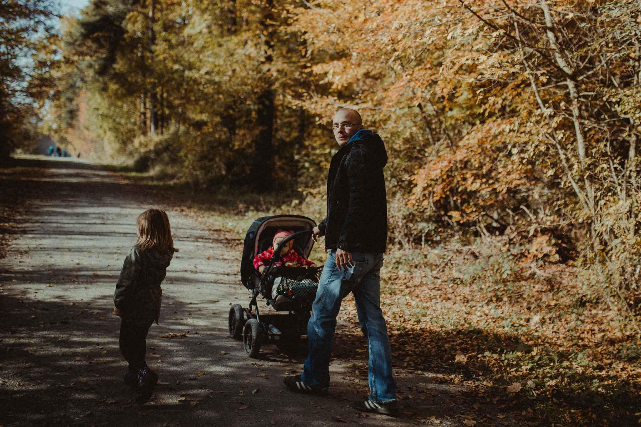 Herbstspaziergang mit der Familie in Rutesheim