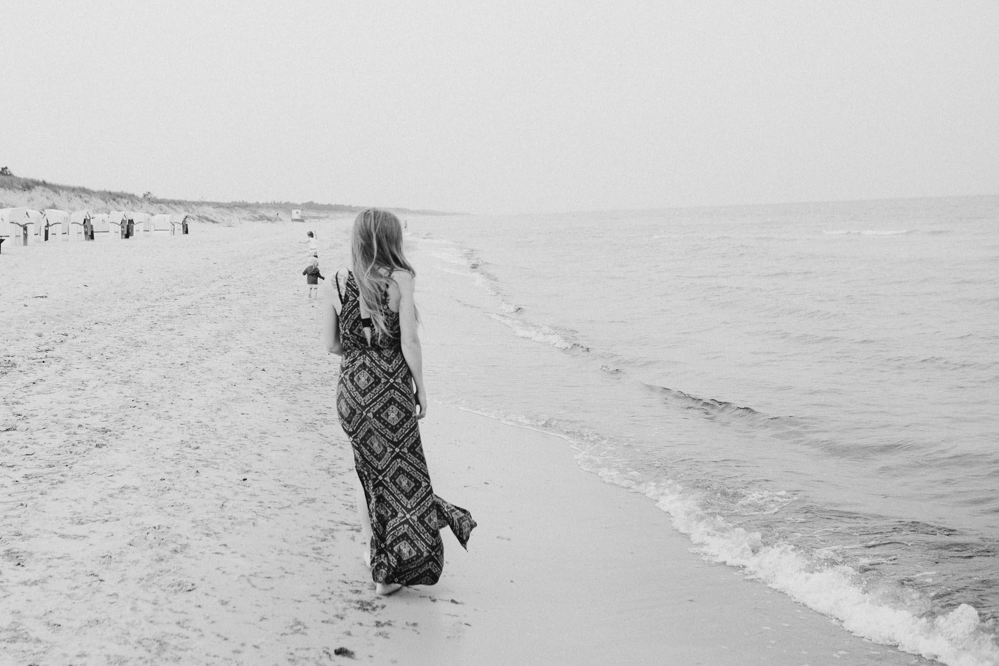 Spaziergang an der Ostsee