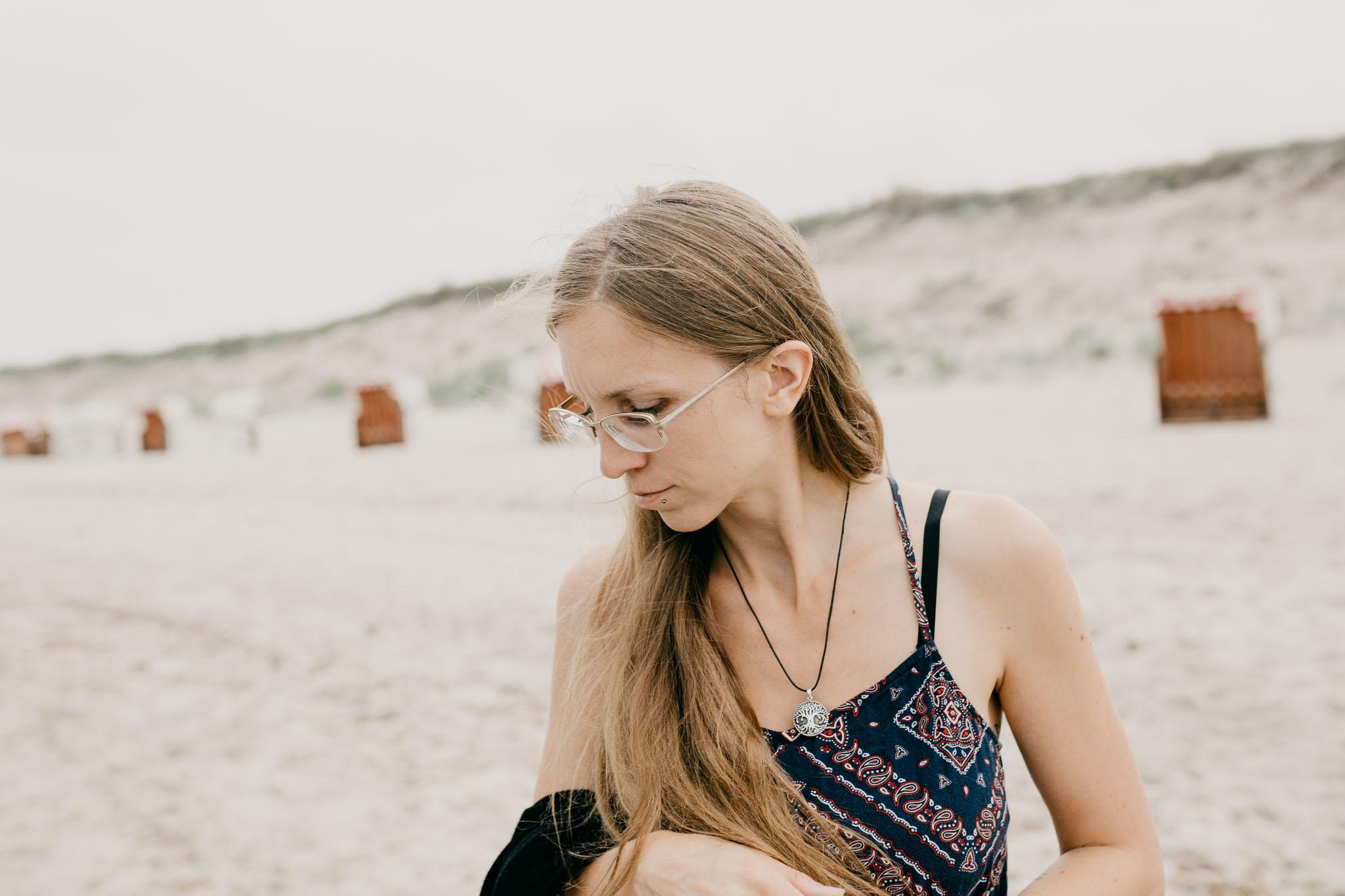 Ein Foto von mir, Maren Scheffler, an der Ostsee Dierhagen