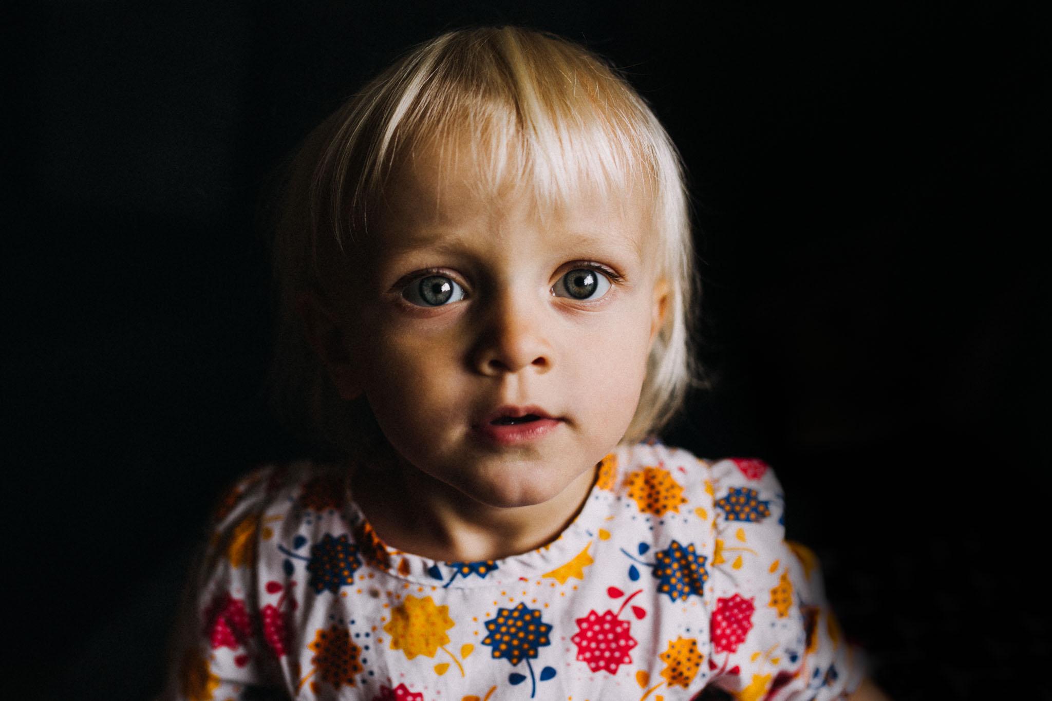 Portrait eines Kleinkinds