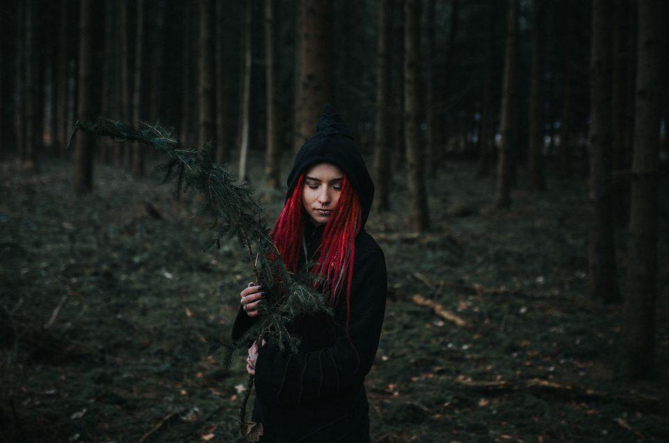Im Wald mit Stella - Portraitshooting im Rutesheimer Wald